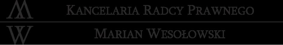 Kancelaria Radcy Prawnego Marian Wesołowski